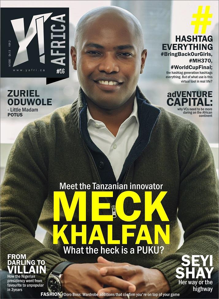 Y! Africa Meck Khalfan Cover