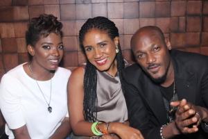 Annie_Idibia__Senior_Brand_Manager_Heineken__Ngozi_Nkwoji_and_2Face_Idibia