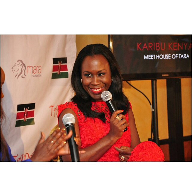 Tara Fela-Durotoye in Kenya