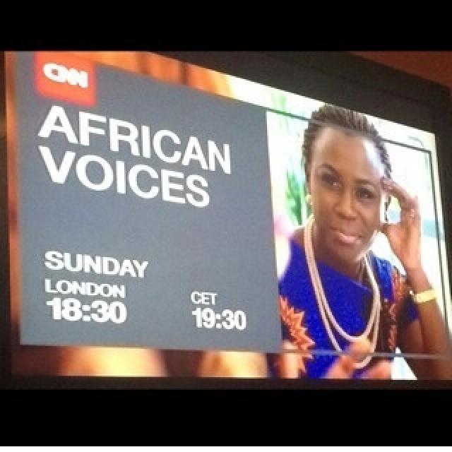 Tara on CNN's African Voices