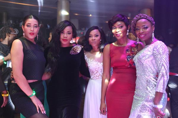 Adunni Ade, Toyin Lawani, Toke Makinwa and Layole Oyatogun_1