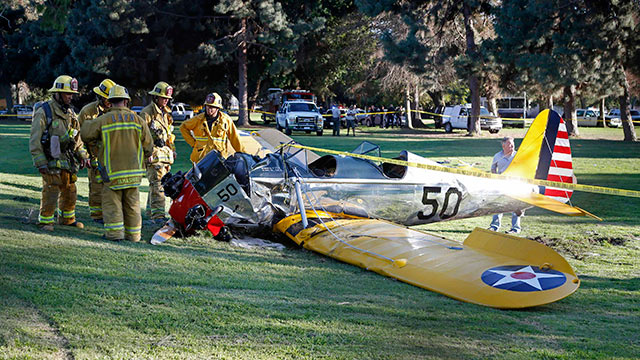 Harrison Ford golf course