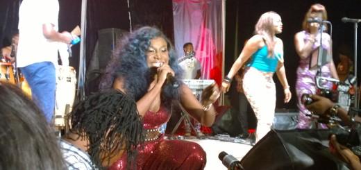Niniola Performing at Afropolitan Vibes