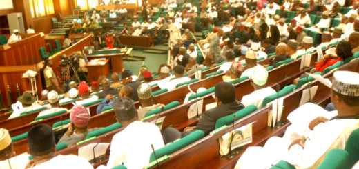 PIC 12. THE HOUSE OF REPRESENTATIVES IN A SPECIAL SITTING ON FUEL SUBSIDY IN   ABUJA ON SUNDAY (8/1/12).