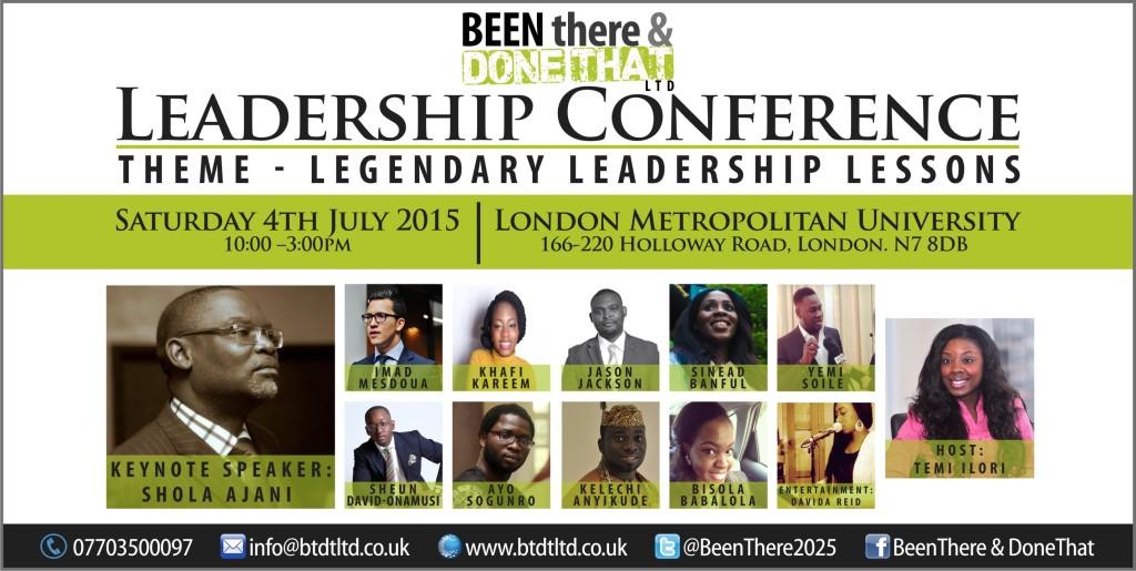 LEGENDARY LEADERSHIP LESSONS