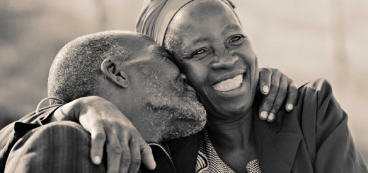 Retired African Couple
