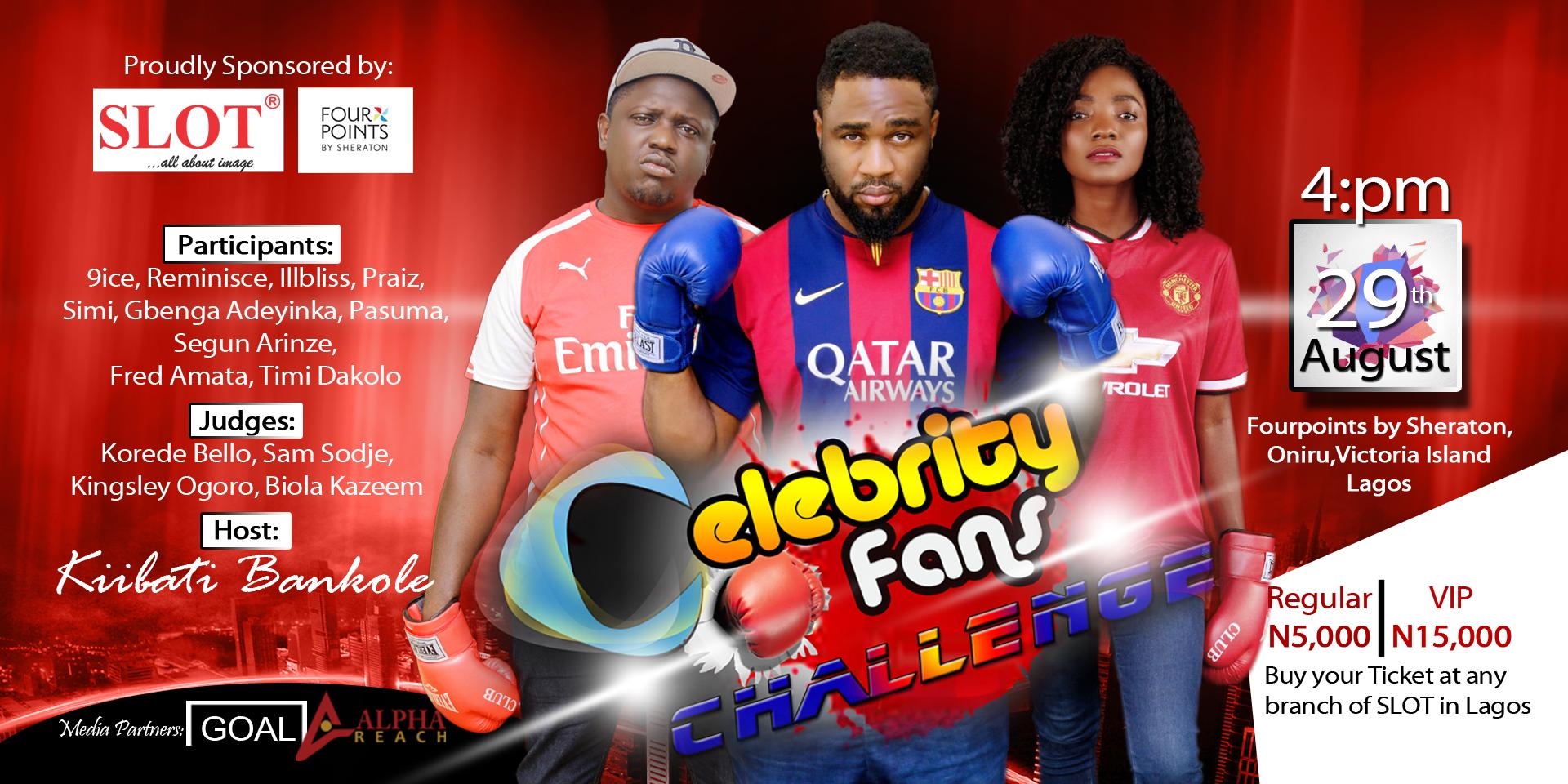 Celebrity Fans Challenge poster
