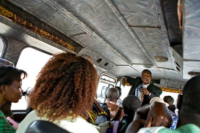 Nigerian Bus Preacher