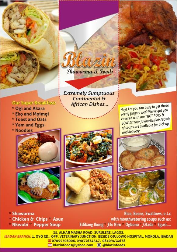 Blazn Shawarma & Foods Lagos